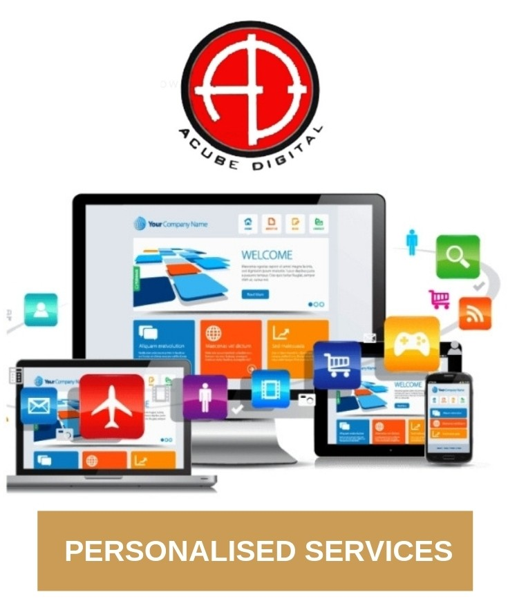Personalised Services through Acube Digital.